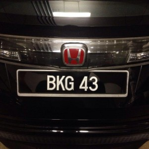 Civic Type R Puzzle BKG43
